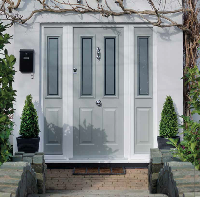 Composite Doors The Black And White Window Co